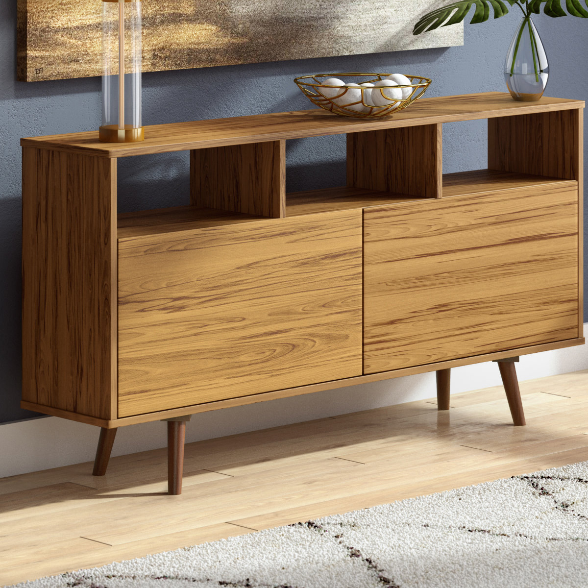 Narrow Buffet Table | Wayfair In Best And Newest Malcom Buffet Table (View 15 of 20)
