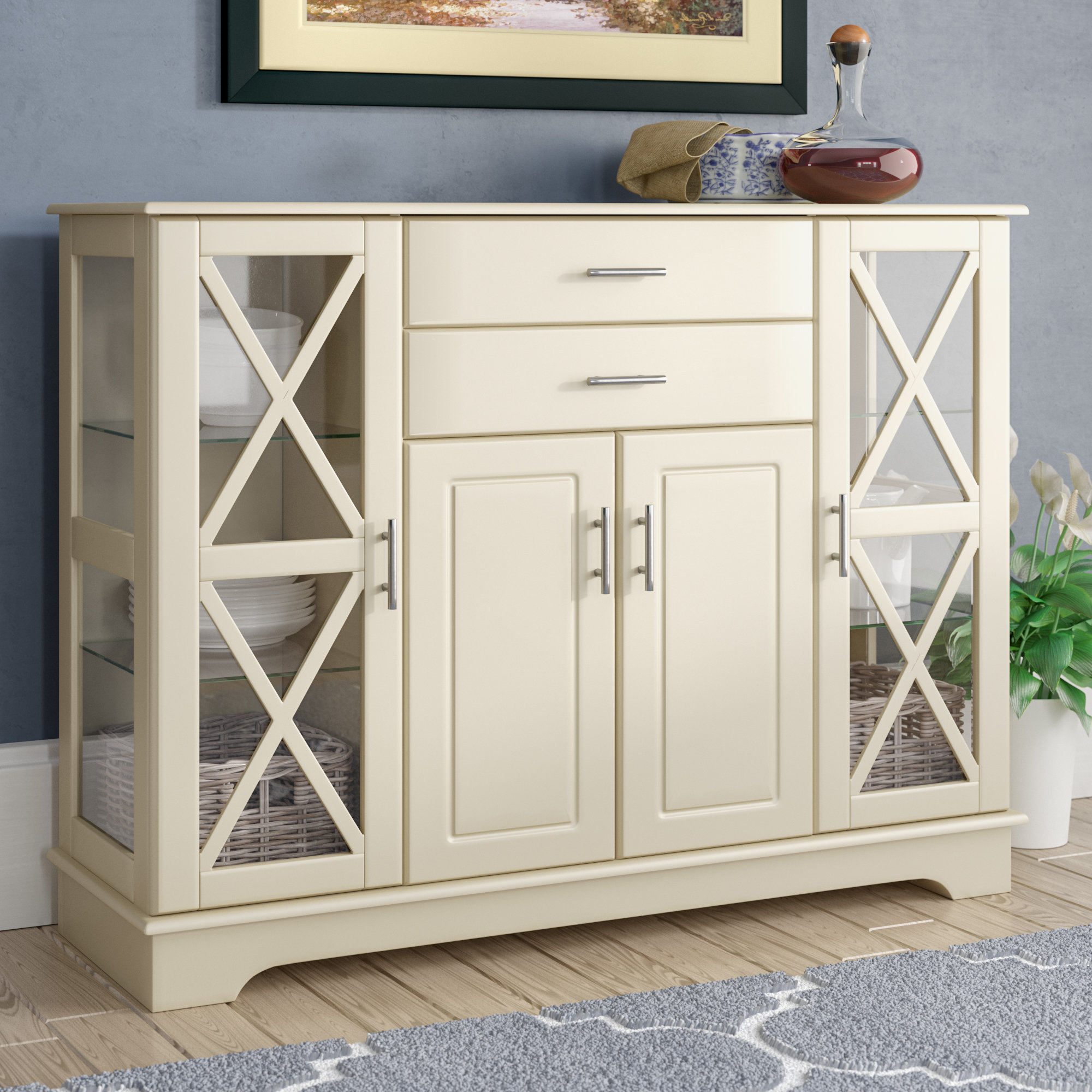 Narrow Dining Room Sideboards | Wayfair Pertaining To 2017 Pineville Dining Sideboards (View 12 of 20)