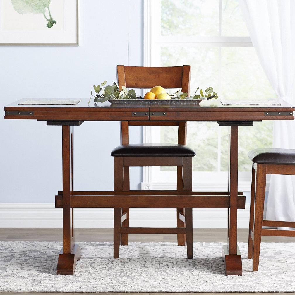 Nashoba Counter Height Extendable Dining Table & Reviews In Best And Newest Nashoba Sideboards (View 19 of 20)