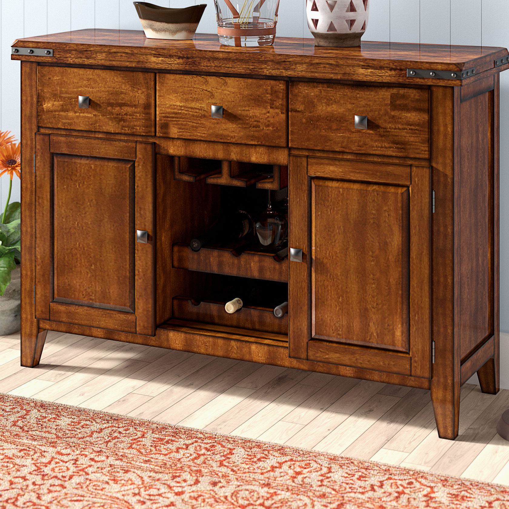 Nashoba Sideboard Pertaining To Most Current Sayles Sideboards (#12 of 20)