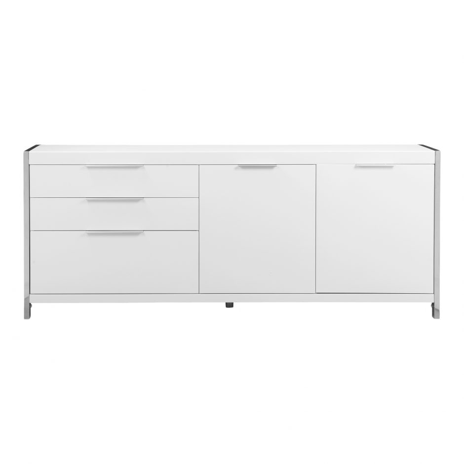 Neo Sideboard White | Products | Moe's With 2017 Thite Sideboards (View 15 of 20)