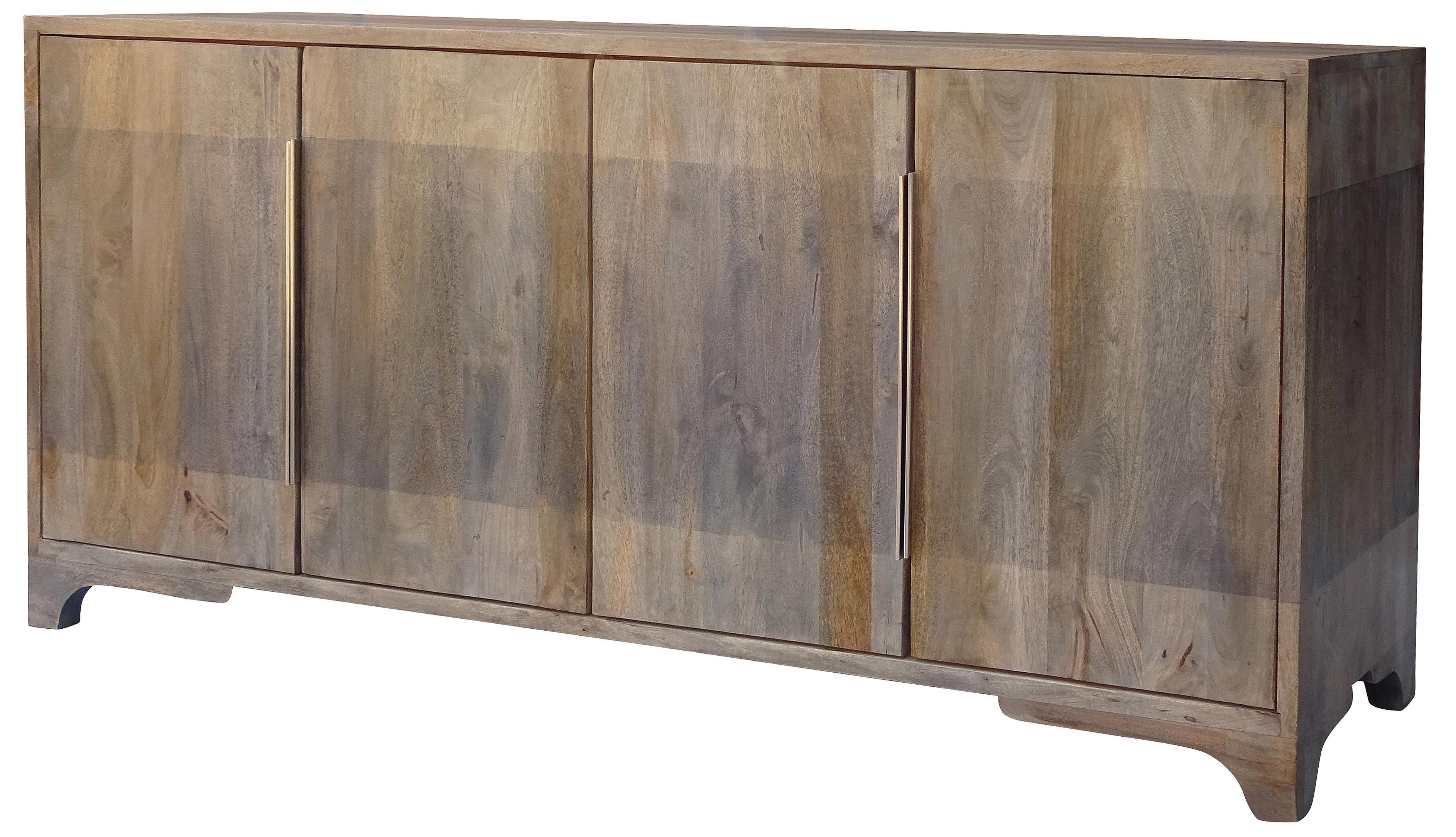 Nia Sideboard With Regard To Most Popular Steinhatchee Reclaimed Pine 4 Door Sideboards (#15 of 20)