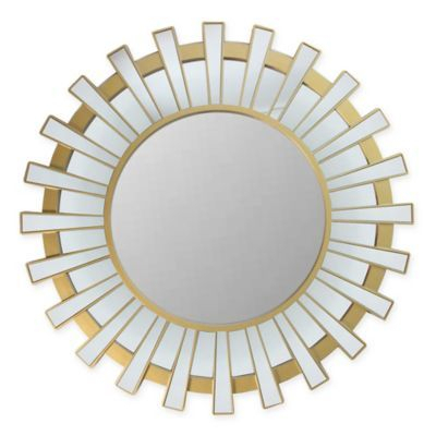 Northlight Sparkling Regal Wall Mirror In Gold In 2019 Inside Polen Traditional Wall Mirrors (View 12 of 20)
