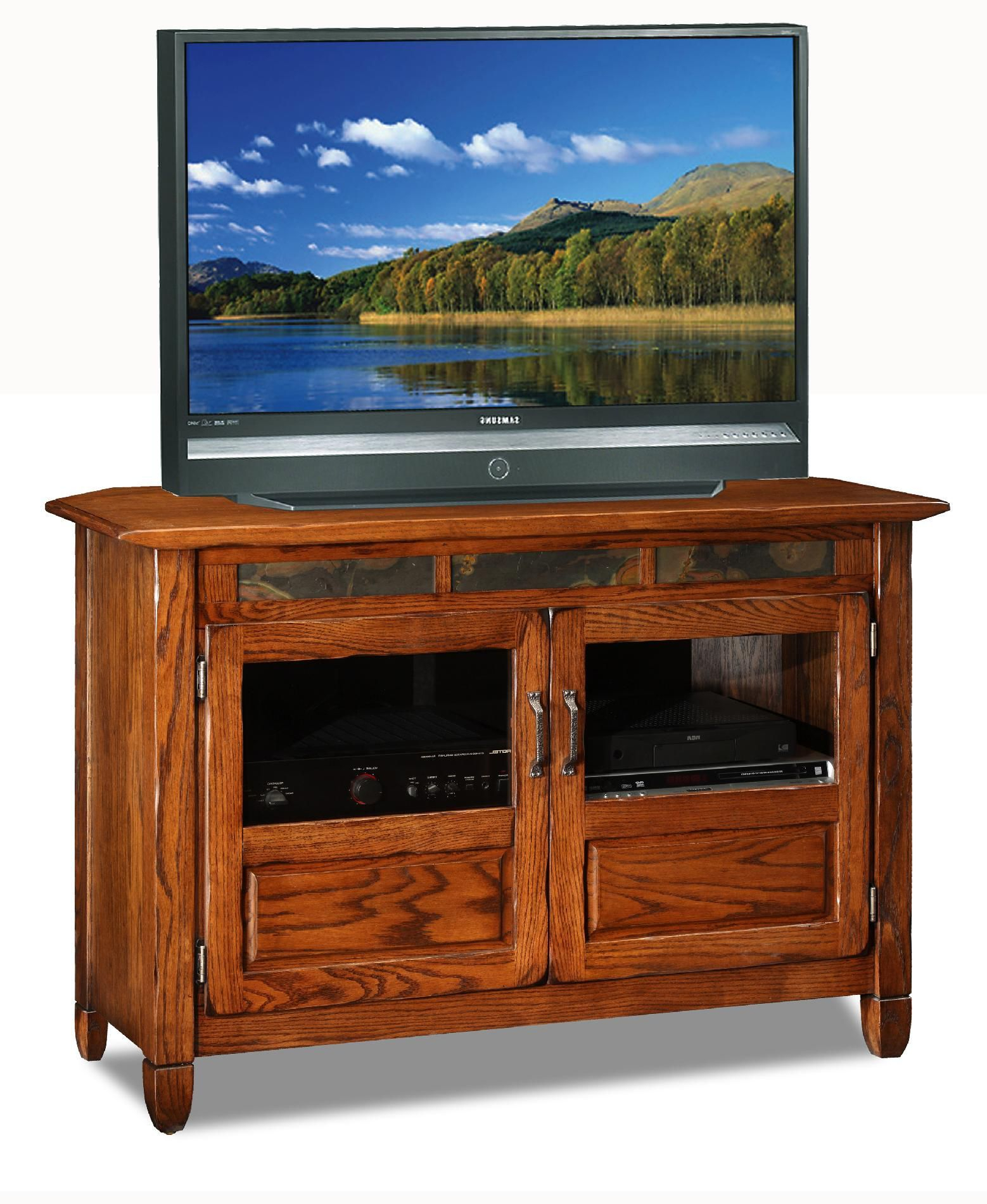 """Oak Creek Tv Stand For Tvs Up To 42"""" In 2019   Sectional Throughout 2018 Ericka Tv Stands For Tvs Up To 42"""" (#14 of 20)"""