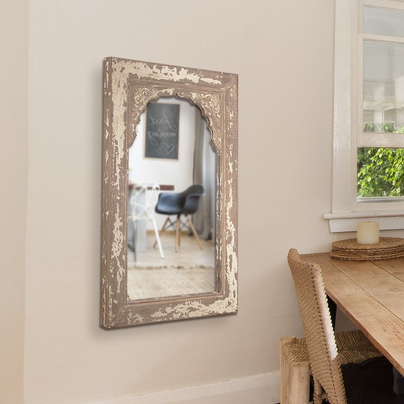 Occoquan Cottage/country Venetian Accent Mirror | Birch Lane Regarding Glynis Wild West Accent Mirrors (View 20 of 20)