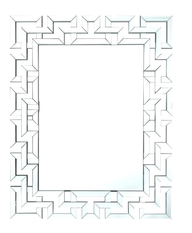 Inspiration about Ornate Wall Mirrors – Fecofa.co Throughout Rectangle Ornate Geometric Wall Mirrors (#16 of 20)
