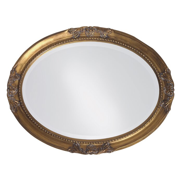 Oval Wood Wall Mirror Regarding Oval Wood Wall Mirrors (#13 of 20)