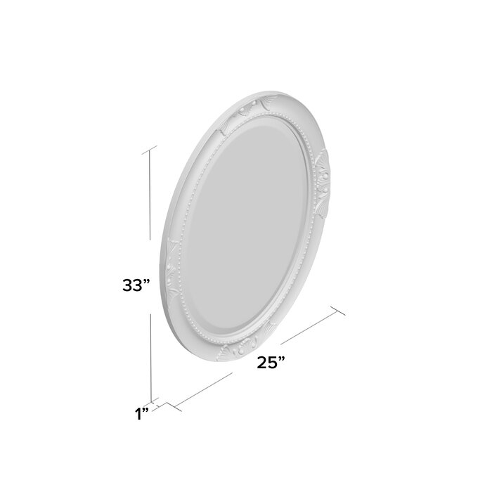 Oval Wood Wall Mirror With Regard To Oval Wood Wall Mirrors (#14 of 20)