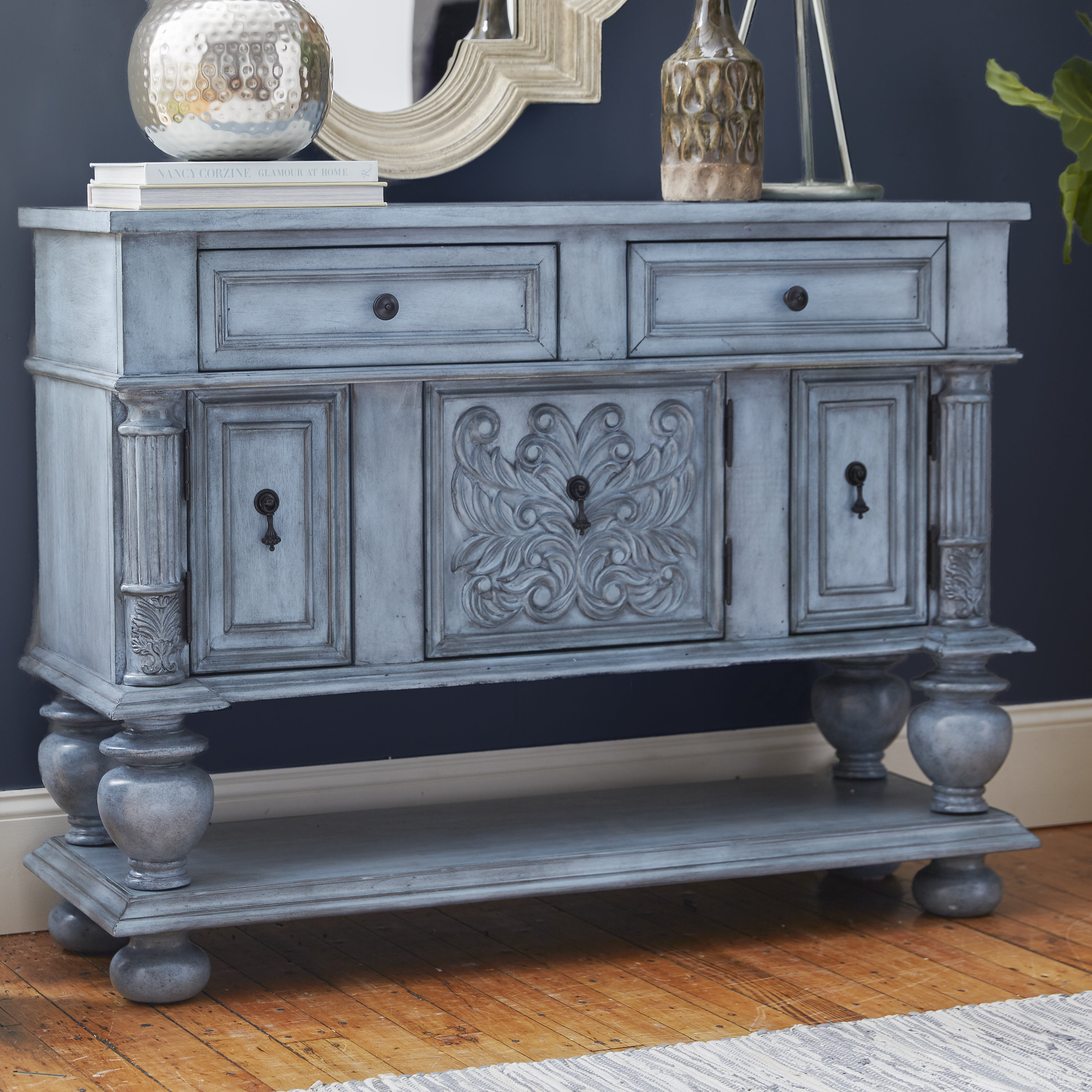 Overbeck Server Inside Most Up To Date Deville Russelle Sideboards (#13 of 20)