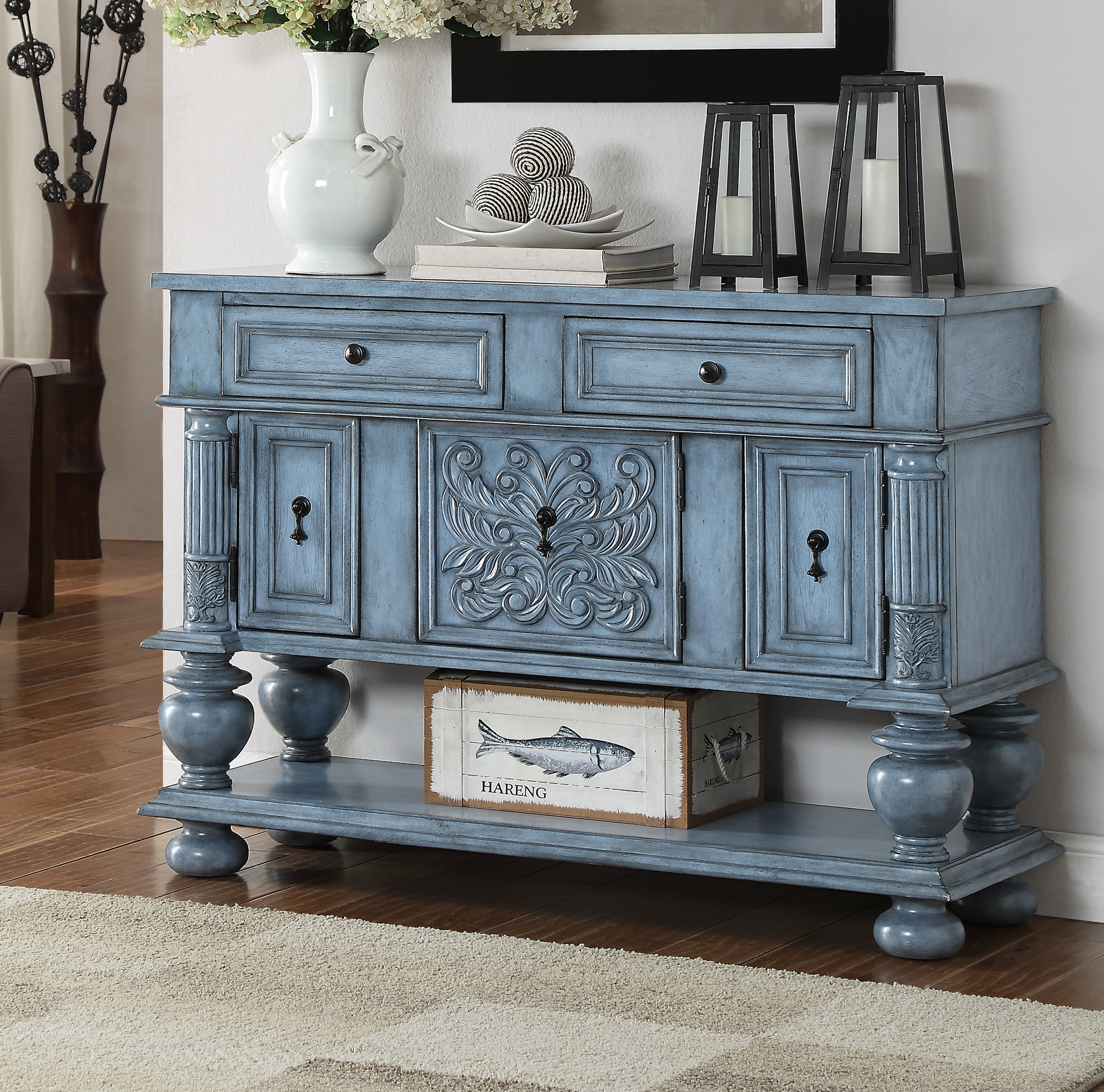 Overbeck Server With Regard To Most Popular Dillen Sideboards (#15 of 20)