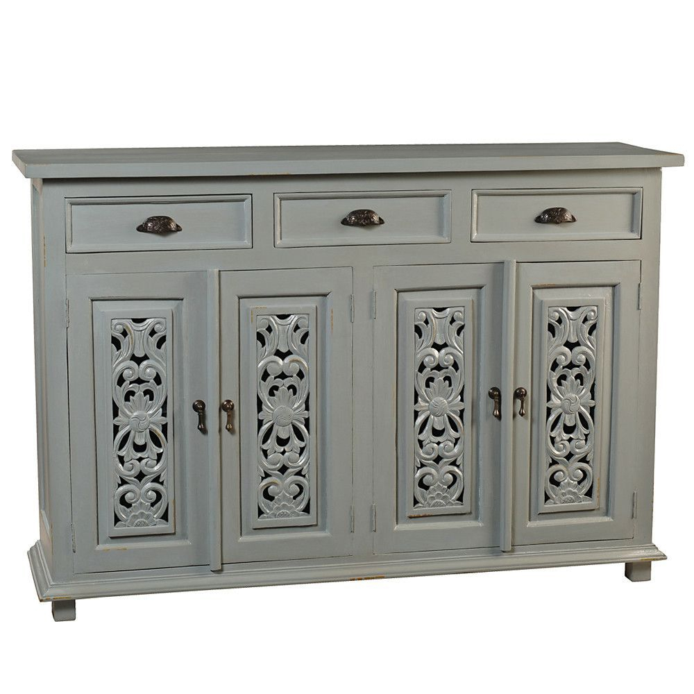 Owen Buffet, Glacier Gray | Products | Buffet, Dining Room With Regard To Most Recently Released Emmaline Sideboards (#17 of 20)