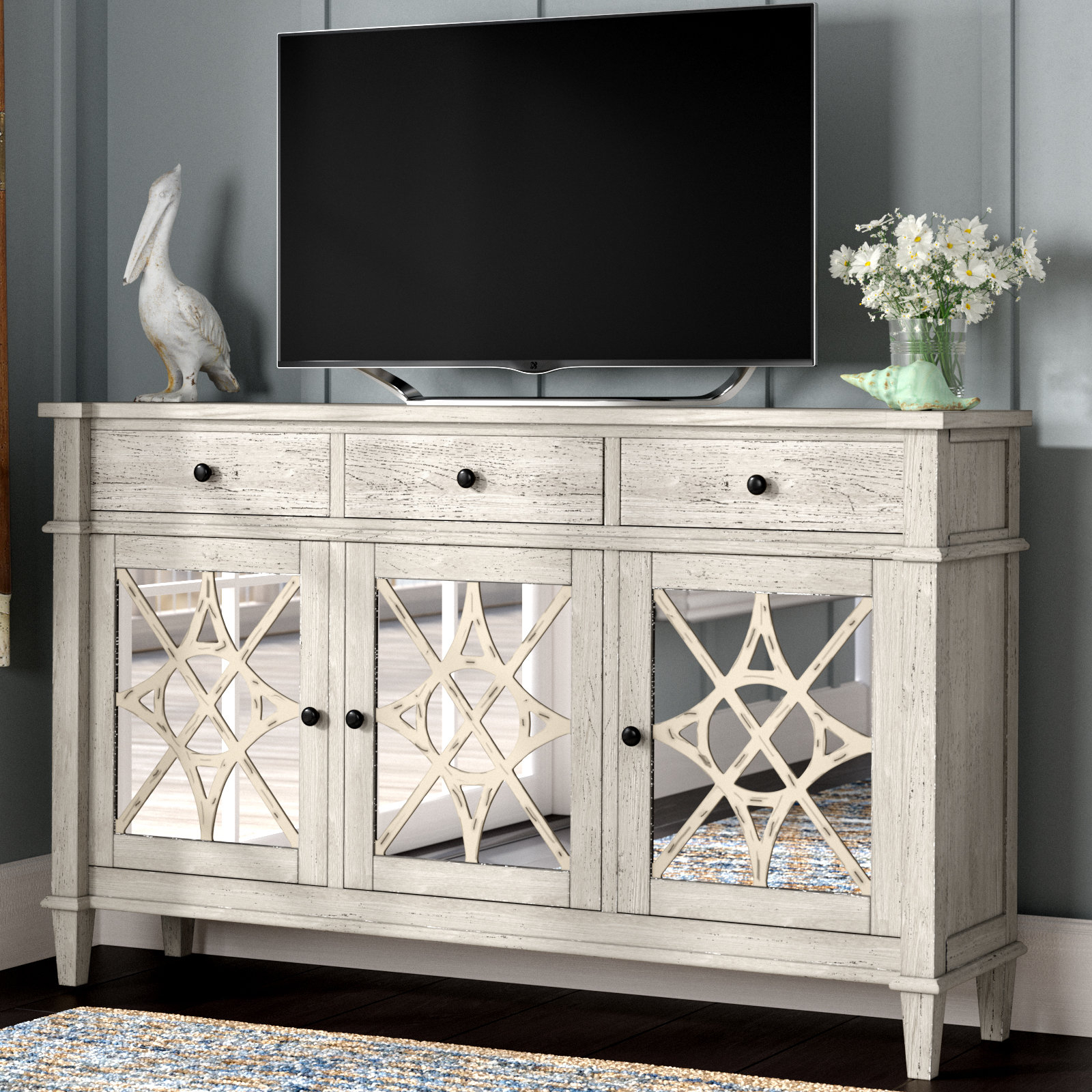 """Parmelee Tv Stand For Tvs Up To 65"""" Intended For Recent Parmelee Tv Stands For Tvs Up To 65"""" (#17 of 20)"""