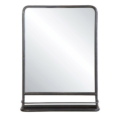 Inspiration about Peetz Modern Rustic Accent Mirror In 2019 | 879 Basement Throughout Peetz Modern Rustic Accent Mirrors (#1 of 20)