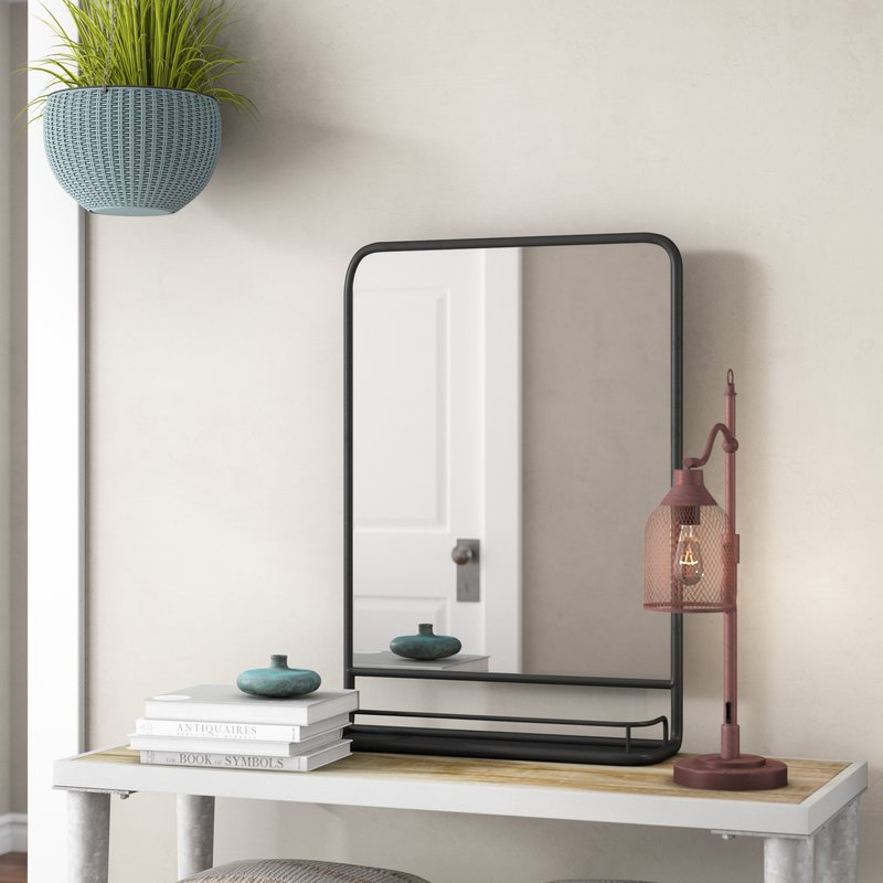Inspiration about Peetz Modern Rustic Accent Mirror Throughout Peetz Modern Rustic Accent Mirrors (#3 of 20)