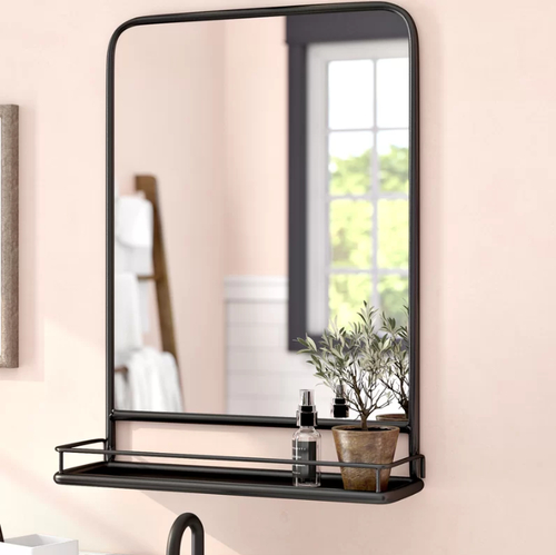 Inspiration about Peetz Modern Rustic Accent Mirror With Peetz Modern Rustic Accent Mirrors (#19 of 20)