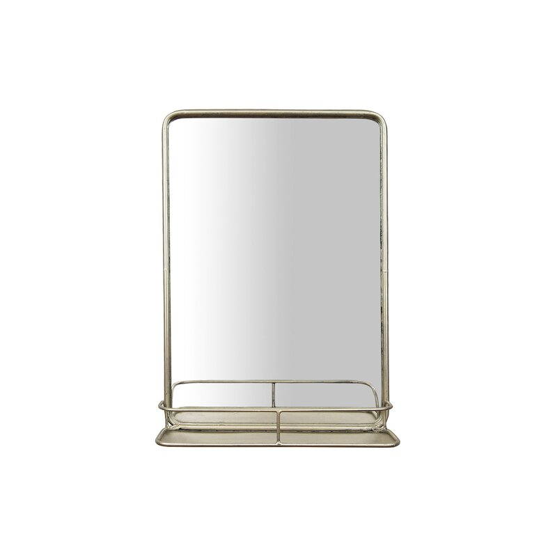 Inspiration about Peetz Modern Rustic Accent Mirror With Regard To Koeller Industrial Metal Wall Mirrors (#12 of 20)