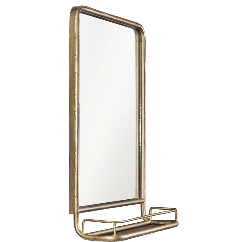 Inspiration about Peetz Modern Rustic Accent Mirror Within Peetz Modern Rustic Accent Mirrors (#4 of 20)