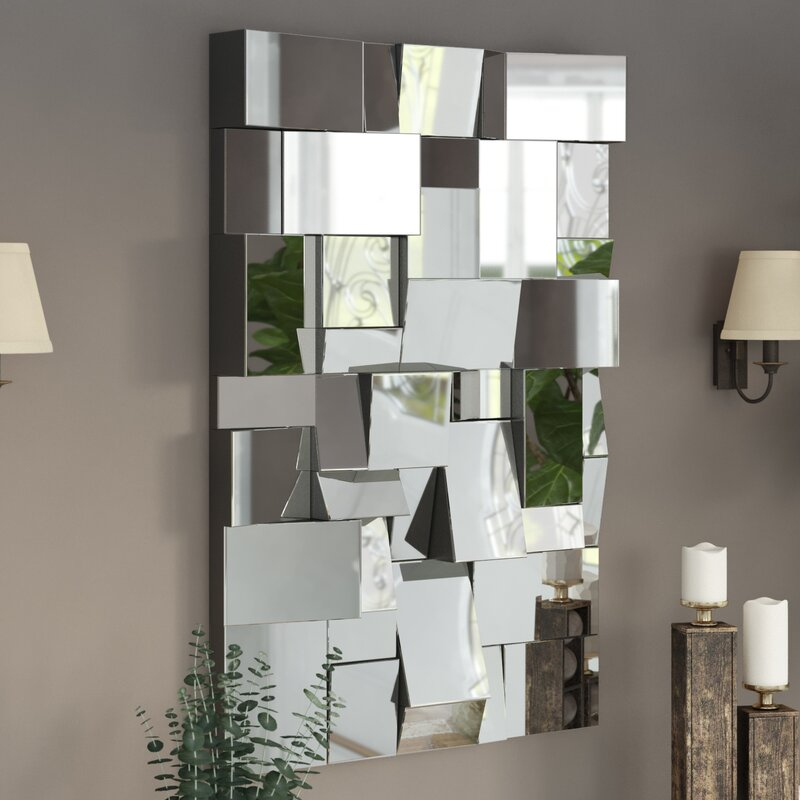 Pennsburg Rectangle Wall Mirror With Pennsburg Rectangle Wall Mirrors (#8 of 20)