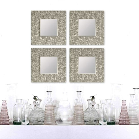 Inspiration about Perla Mosaic Accent Mirror – Mirrors – Wall Decor – Decor Intended For Trigg Accent Mirrors (#12 of 20)