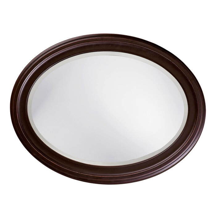 Inspiration about Pfister Oval Wood Wall Mirror Intended For Pfister Oval Wood Wall Mirrors (#2 of 20)