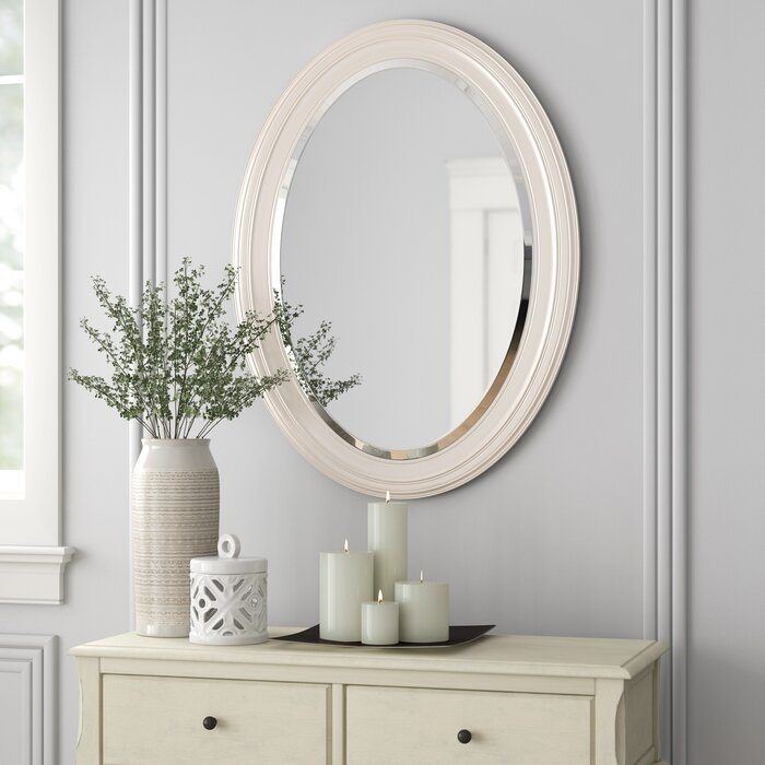 Inspiration about Pfister Oval Wood Wall Mirror Regarding Pfister Oval Wood Wall Mirrors (#4 of 20)
