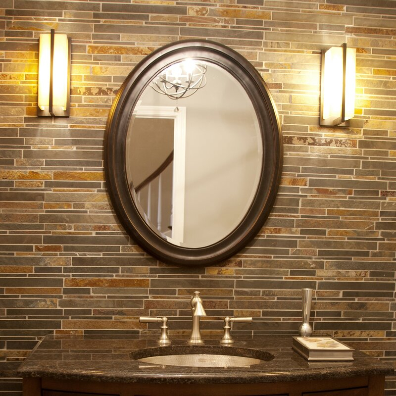 Inspiration about Pfister Oval Wood Wall Mirror Throughout Pfister Oval Wood Wall Mirrors (#3 of 20)