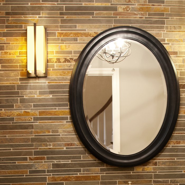 Inspiration about Pfister Oval Wood Wall Mirror With Regard To Pfister Oval Wood Wall Mirrors (#1 of 20)