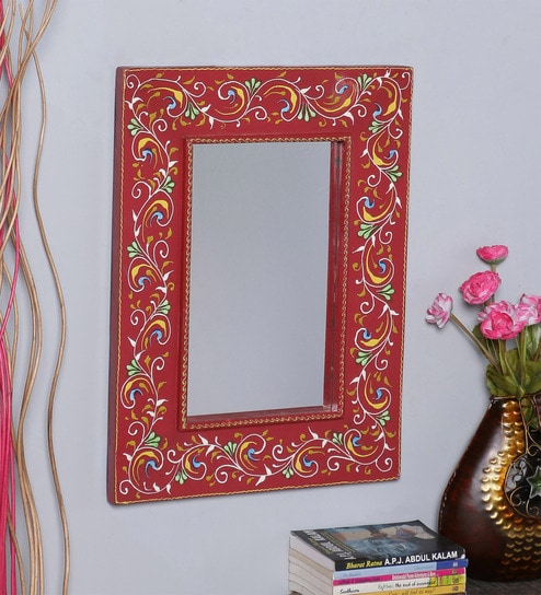 Inspiration about Picabo Rectangular Wall Mirrornandani Wood Regarding Abdul Accent Mirrors (#19 of 20)