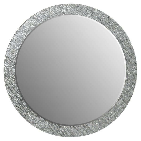 Point Reyes Molten Round Wall Mirror Intended For Point Reyes Molten Round Wall Mirrors (#13 of 20)