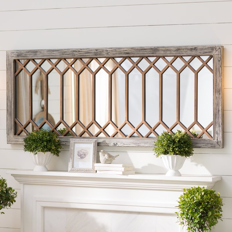 Polito Cottage/country Wall Mirror For Polito Cottage/country Wall Mirrors (#13 of 20)