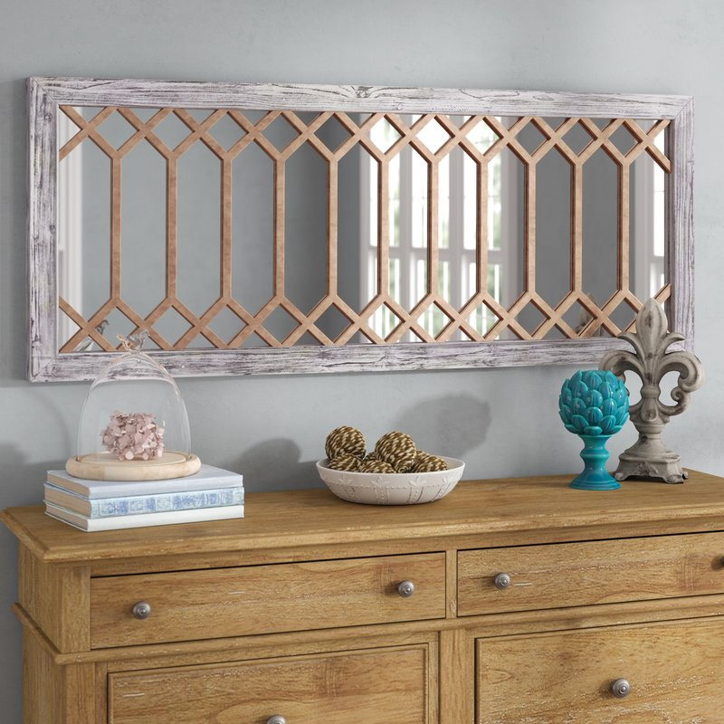 Polito Cottage/country Wall Mirror With Regard To Polito Cottage/country Wall Mirrors (#18 of 20)