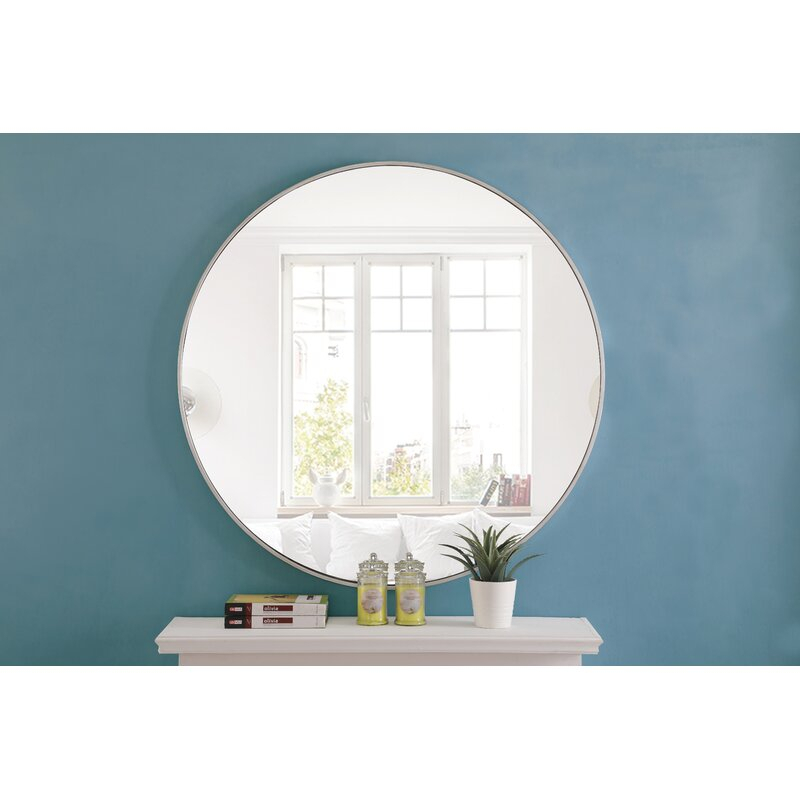 Inspiration about Powder Room All Mirrors Rh Modern Ma T Mirror For Needville Modern & Contemporary Accent Mirrors (#17 of 20)