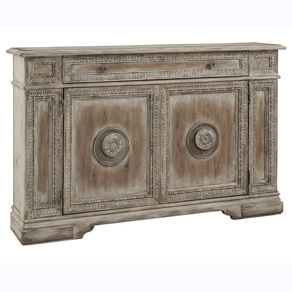 Inspiration about Pulaski 766102 Credenza In Cate | Crazy 4 Credenzas With Latest Giulia 3 Drawer Credenzas (#8 of 20)