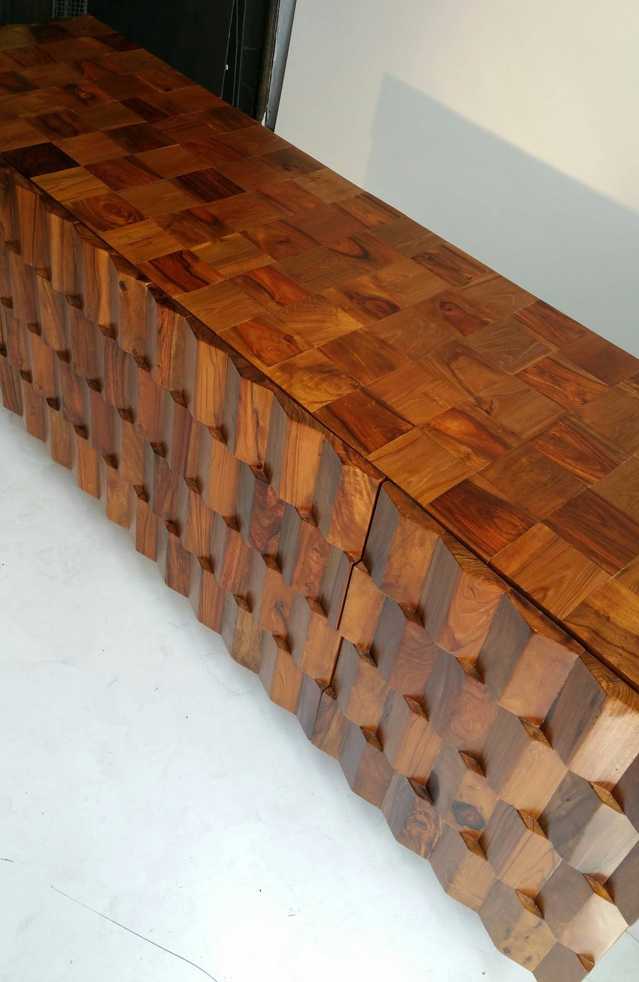 Inspiration about Rare Brutalist Sideboard, Custom Built For Current Wendell Sideboards (#19 of 20)