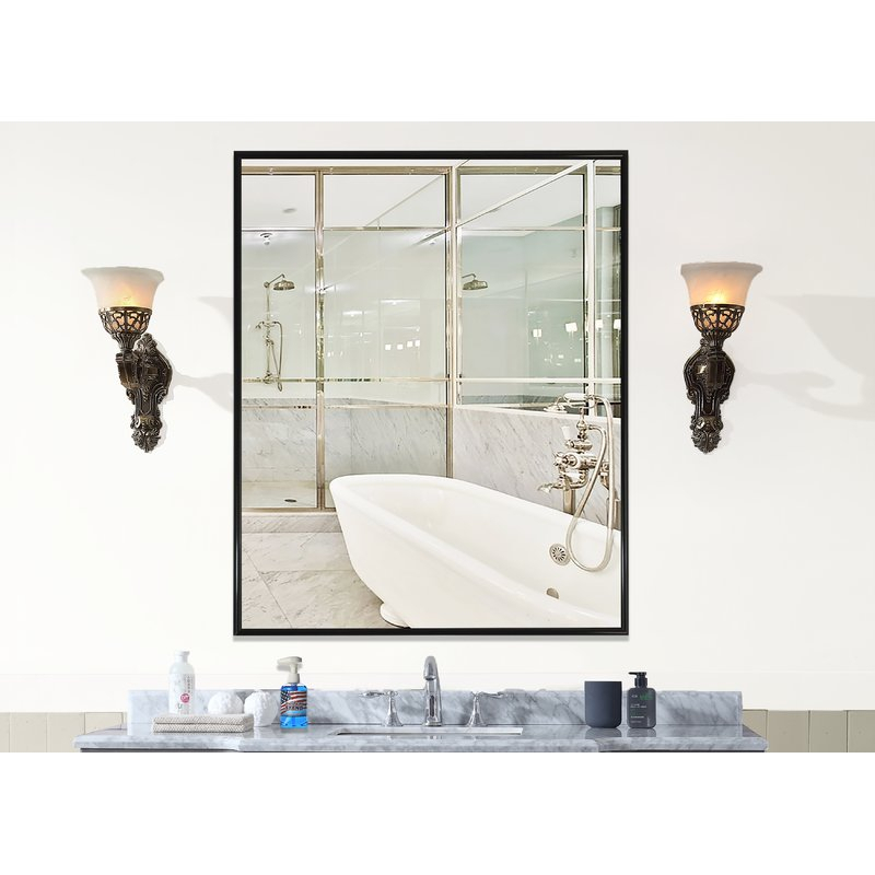 Inspiration about Rayne Mirrors Inc. – American Made Rayne Alpha Black Wall In American Made Accent Wall Mirrors (#18 of 20)