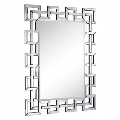 Inspiration about Rectangle Ornate Geometric Wall Mirror In 2019 | Los Altos For Rectangle Ornate Geometric Wall Mirrors (#5 of 20)