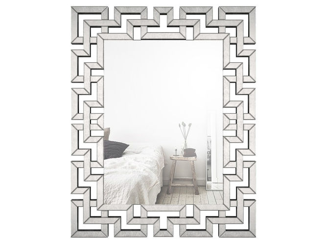Rectangle Ornate Geometric Wall Mirror Wlao1370 | 3D Model Pertaining To Rectangle Ornate Geometric Wall Mirrors (#18 of 20)