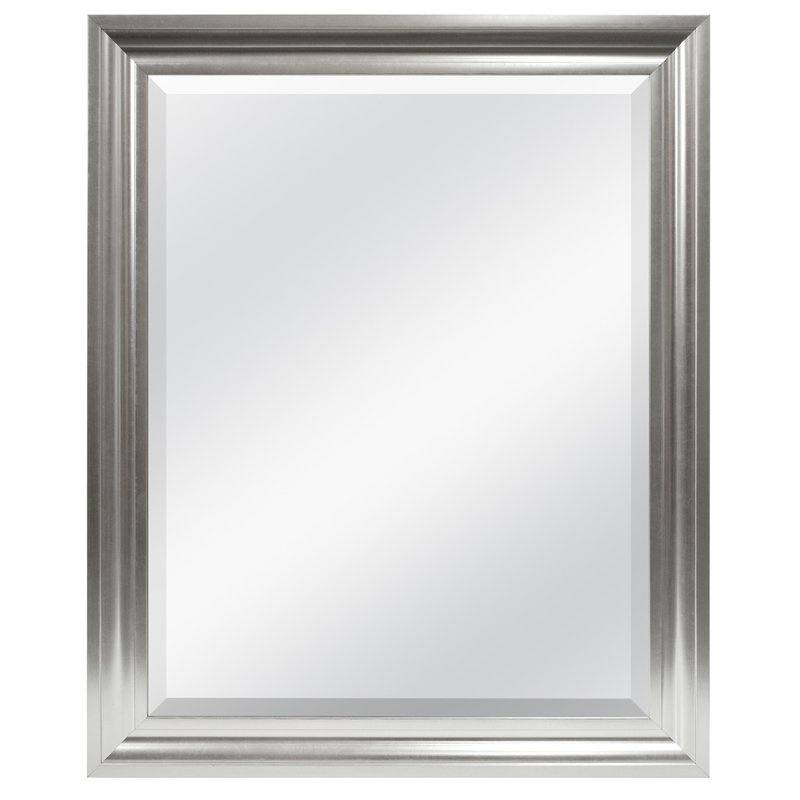 Inspiration about Rectangle Plastic Beveled Wall Mirror Pertaining To Rectangle Plastic Beveled Wall Mirrors (#3 of 20)