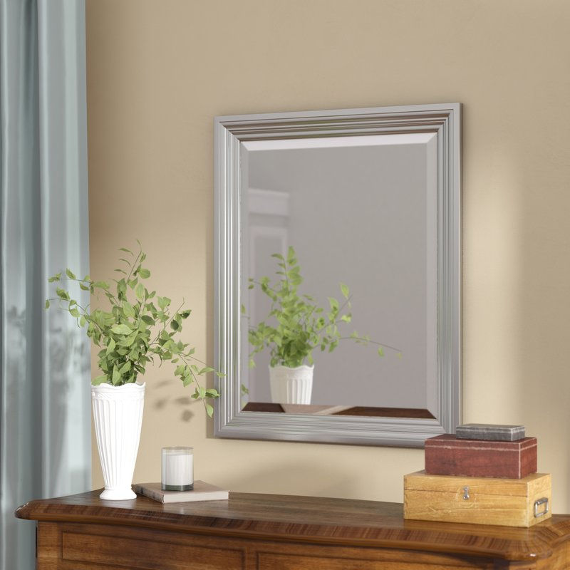 Inspiration about Rectangle Plastic Beveled Wall Mirror Pertaining To Rectangle Plastic Beveled Wall Mirrors (#2 of 20)