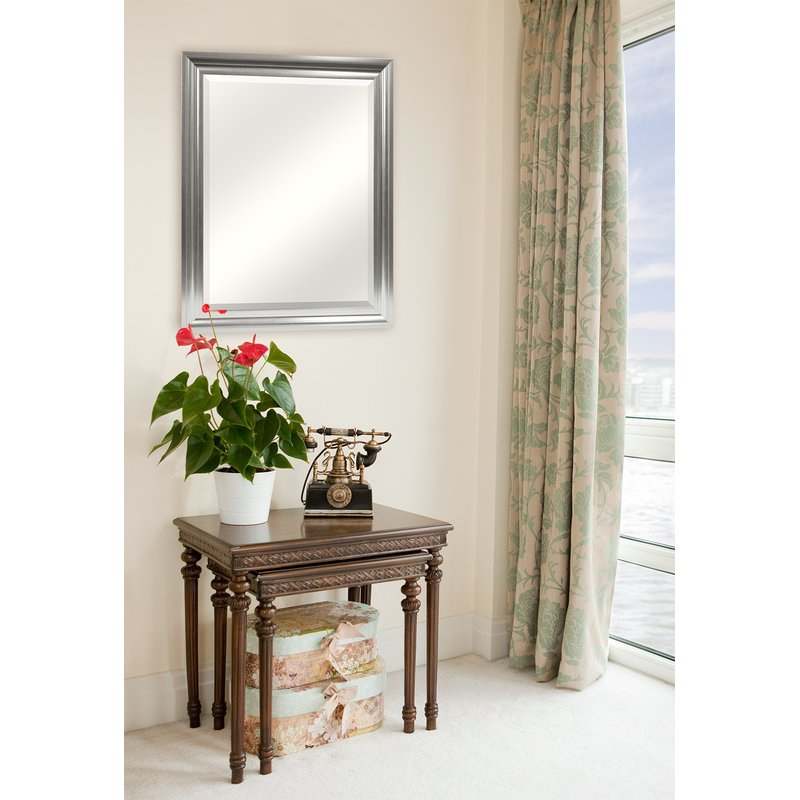 Inspiration about Rectangle Plastic Beveled Wall Mirror Regarding Rectangle Plastic Beveled Wall Mirrors (#4 of 20)