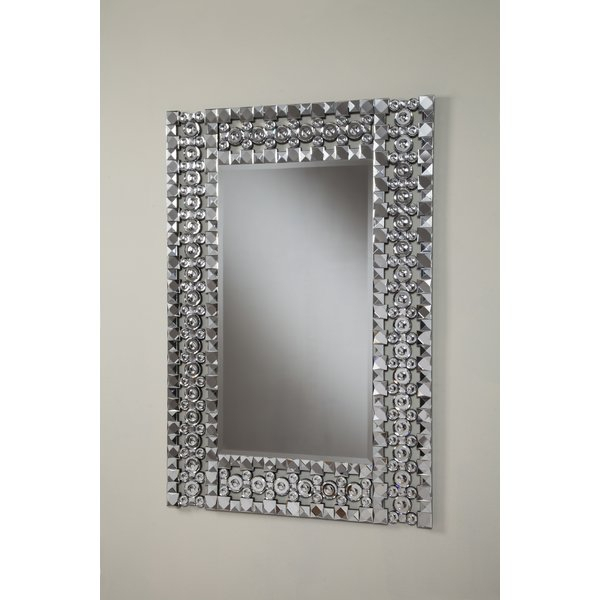 Inspiration about Rectangular Crystal Mirror | Wayfair With Pennsburg Rectangle Wall Mirrors (#19 of 20)