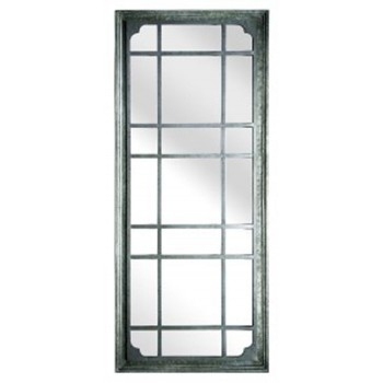 Inspiration about Remy – Antique Gray – Accent Mirror In Rectangle Antique Galvanized Metal Accent Mirrors (#15 of 20)