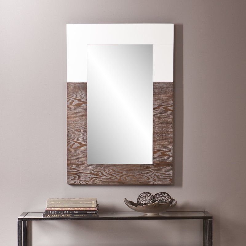 Inspiration about Rena Accent Mirror | Bedroom Remodel | White Mirror, Mirror For Rena Accent Mirrors (#1 of 20)