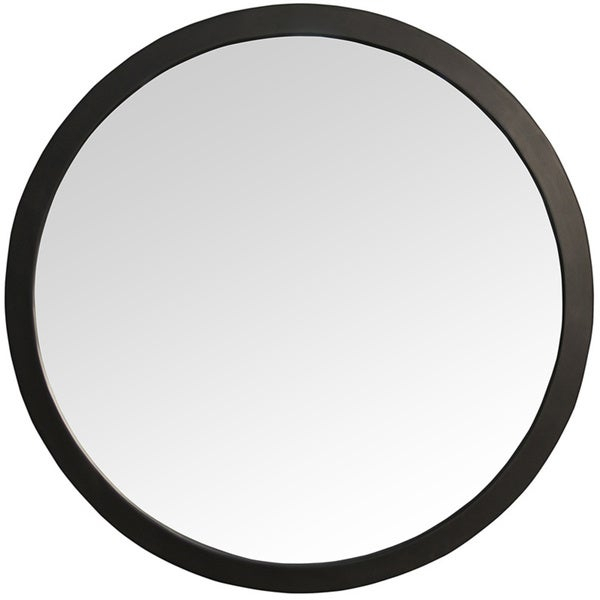 Inspiration about Rena Round Black Wall Mirror Throughout Rena Accent Mirrors (#10 of 20)