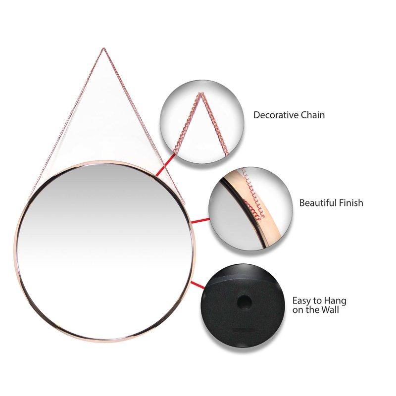 Inspiration about Rhein Accent Mirror Inside Rhein Accent Mirrors (#5 of 20)