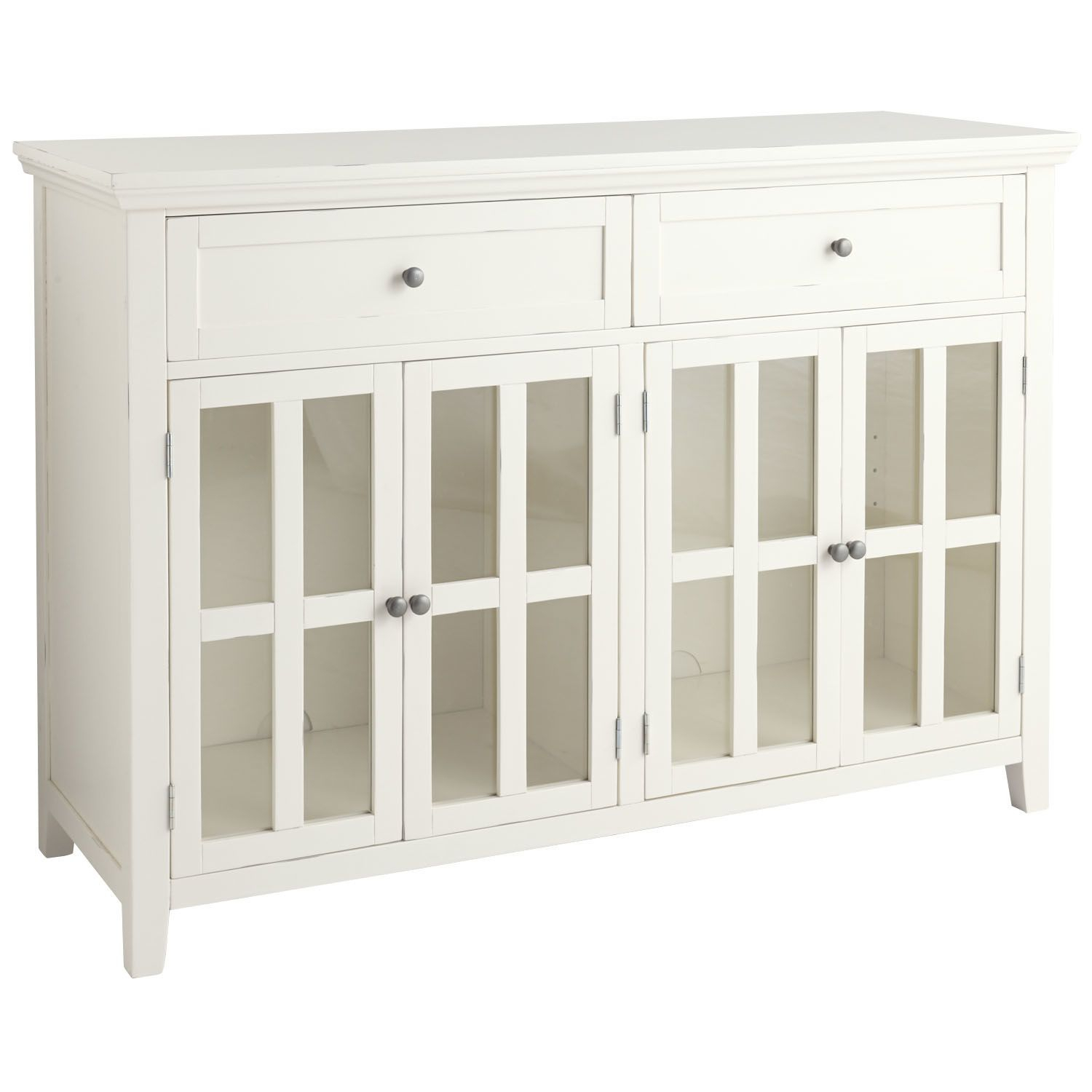 Ronan Buffet – Antique White | Pier 1 Imports | For Home In With Most Recently Released Amityville Sideboards (View 17 of 20)