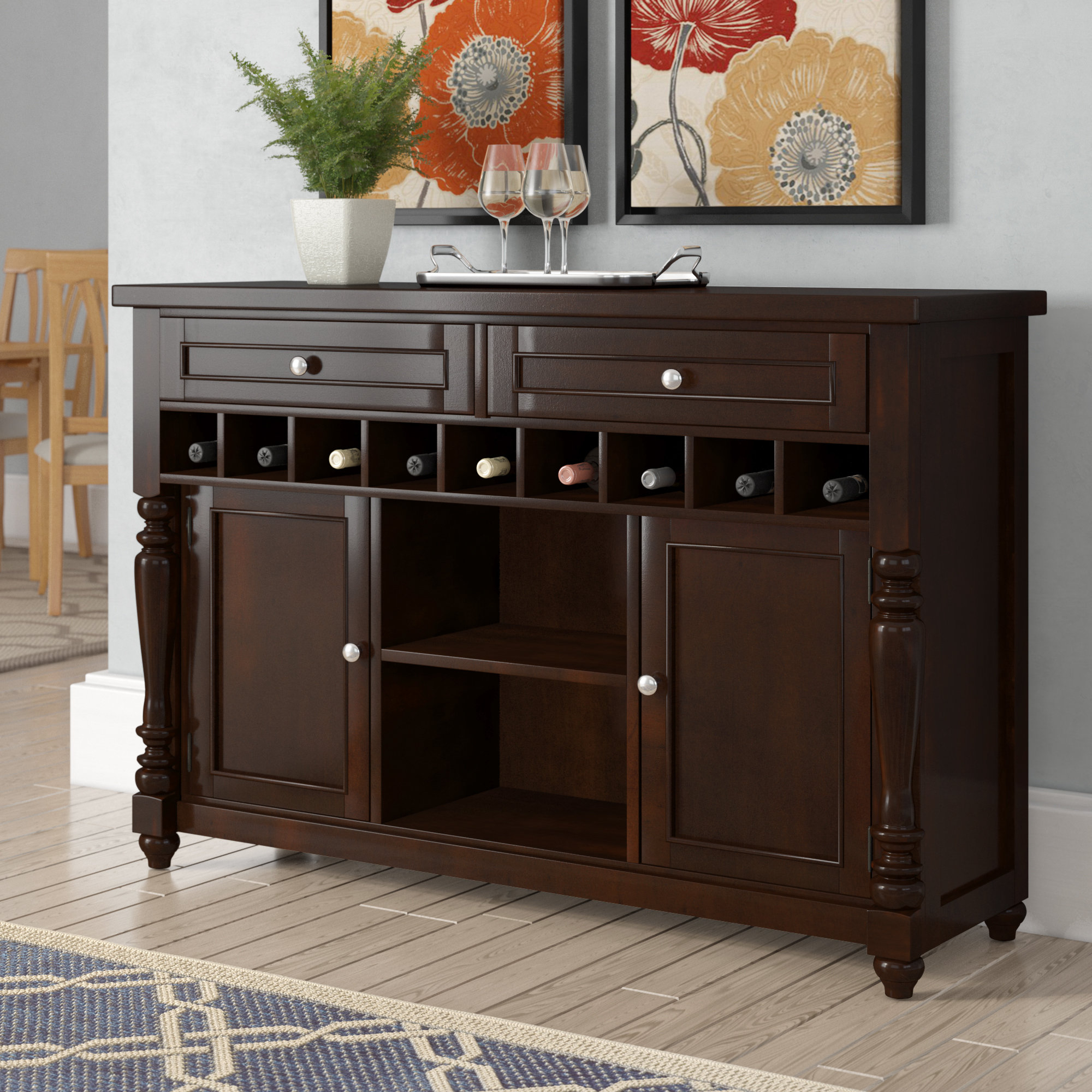 Inspiration about Rosalee Buffet Table Pertaining To Most Recent Lanesboro Sideboards (#13 of 20)