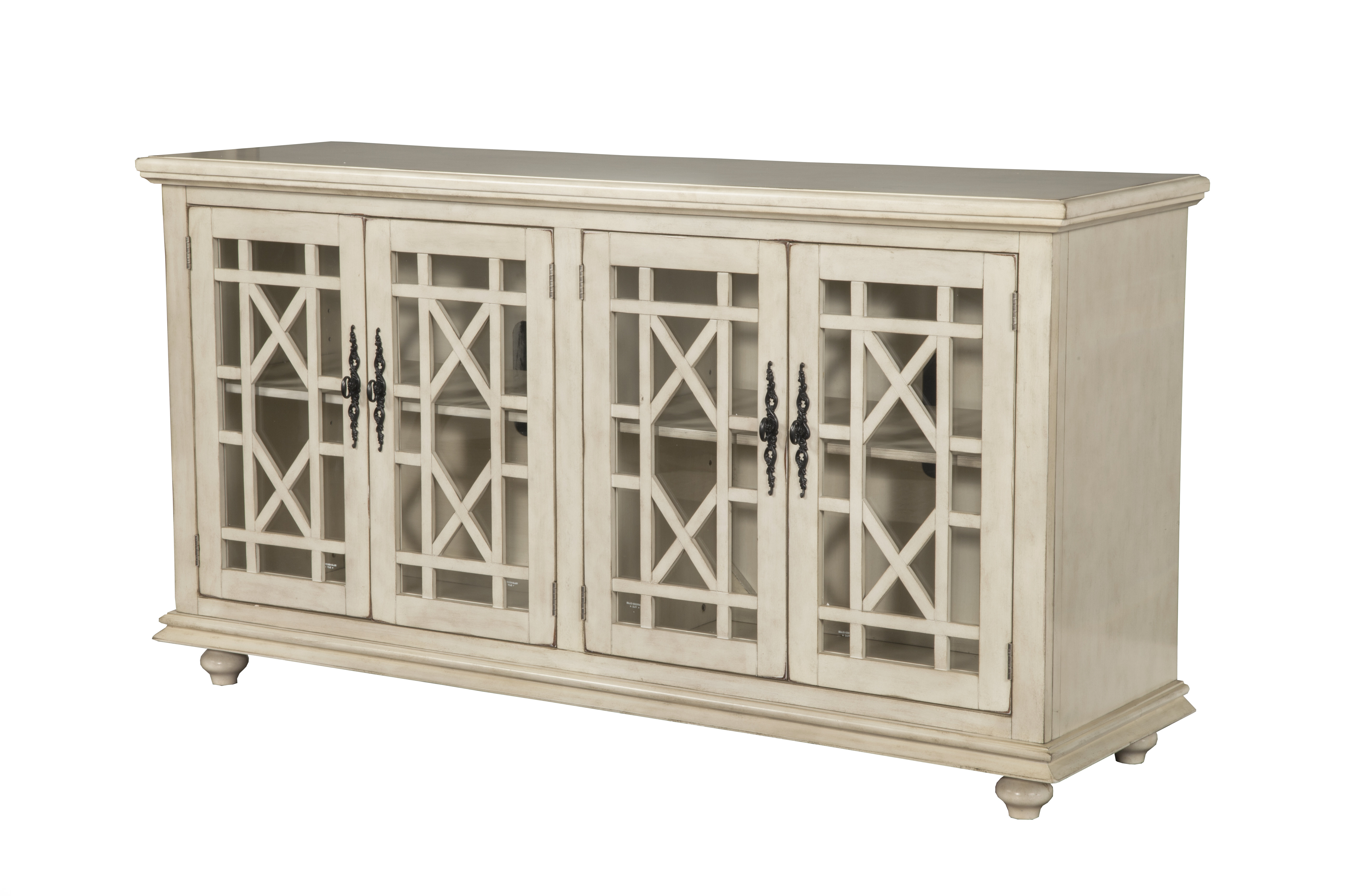 """Rosecliff Heights Mainor Tv Stand For Tvs Up To 65"""" With 2017 Colefax Vintage Tv Stands For Tvs Up To 78"""" (#13 of 20)"""