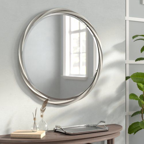 Inspiration about Round Accent Mirror In 2019 | Accessories For House | Mirror With Regard To Charters Towers Accent Mirrors (#13 of 20)