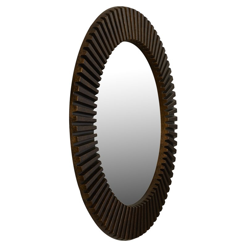 Inspiration about Round Eclectic Accent Mirror In Round Eclectic Accent Mirrors (#4 of 20)